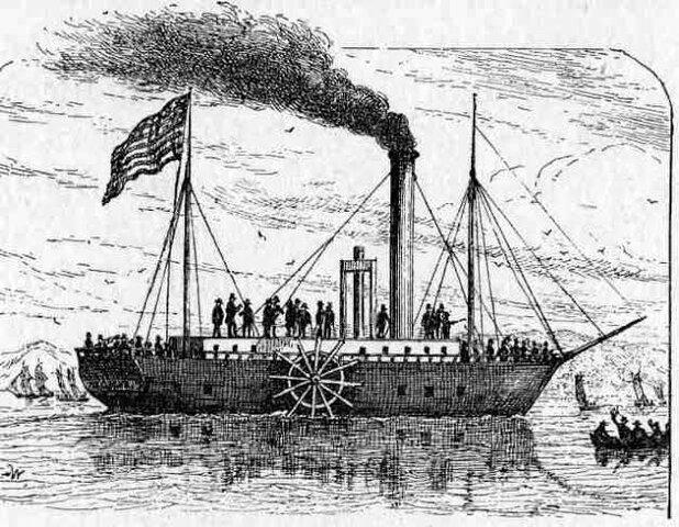 La invención del barco de vapor
