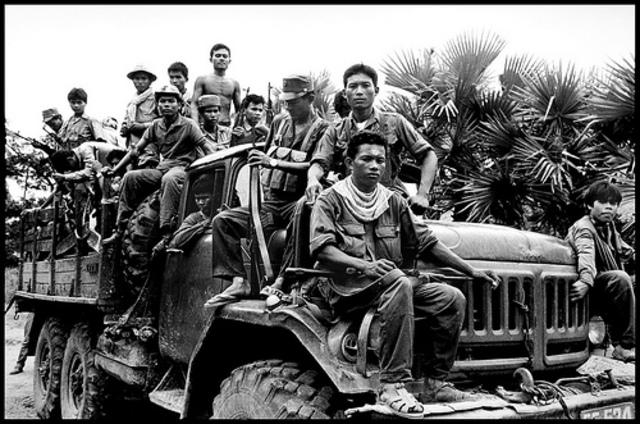 Combodian Civil War Begins