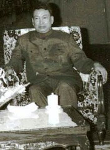 Pol Pot Gains Power in Cambodia