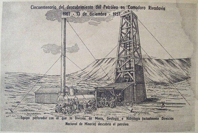 Se descubre petróleo en Argentina