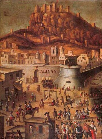Expulsión de los moriscos por el puerto de Alicante