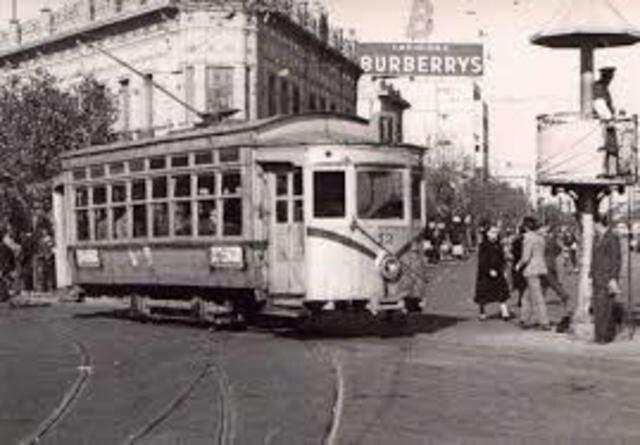 Los primeros tramways