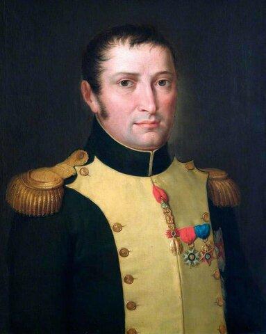 Napoleón proclama a su hermano José I Bonaparte Rey de España  ( 1808 )