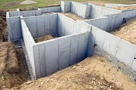 Pour footings and foundation