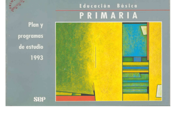PLAN Y PROGRAMAS 1993