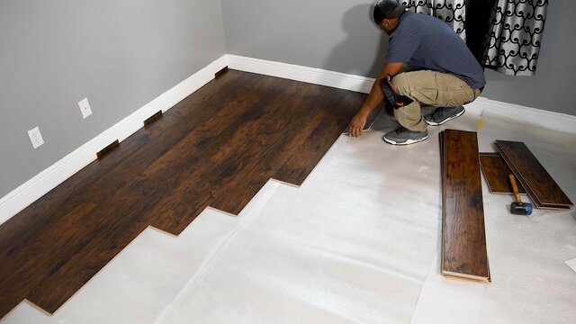 Cabinetry, Flooring and Paint