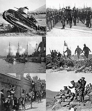 Comienzo de la Guerra de Marruecos.