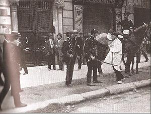 Huelga general en Barcelona [LA SEMANA TRÁGICA].