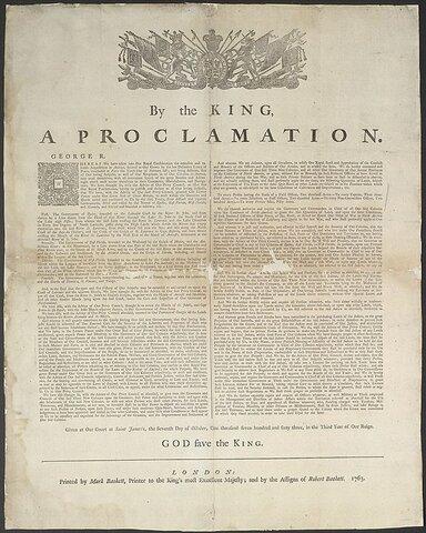 Proclamation royale