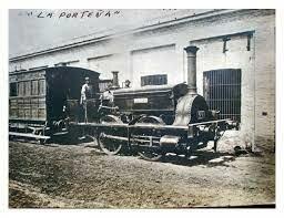 La primera locomotora