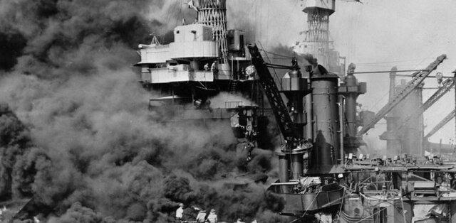 JAPON BOMBARDEA BASE DE ESTADOS UNIDOS