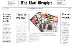 Se publica el primer diario mundial