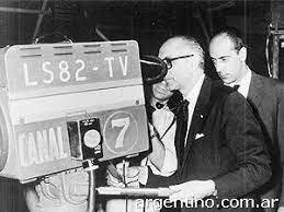 Primera transmisión televisiva