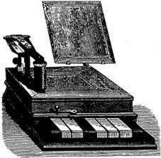 Aparece un telégrafo que transforma impulsos eléctricos en letras impresas