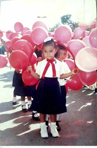 Participación en el Desfile escolar