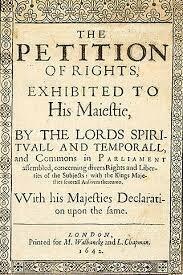 La Petición de Derechos de 1627