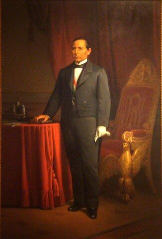 Benito Juárez gana las elecciones