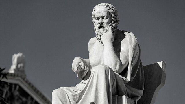 Sócrates es ridiculizado