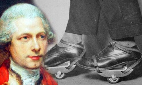 Los primeros modelos de patines