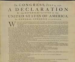 Declaración de Independencia de los E.E.U.U