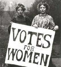 El derecho al voto de las mujeres