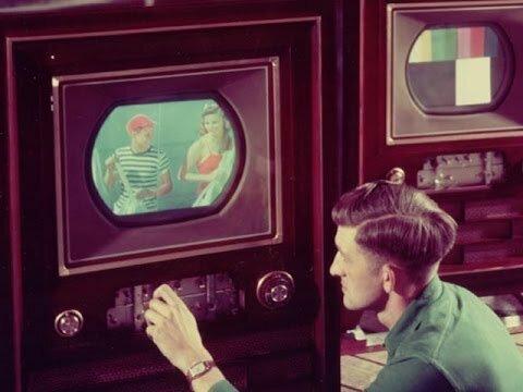 Primera televisión con pantalla rectangular