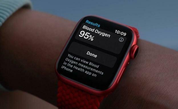 Smartwatches que miden el nivel de oxígeno en sangre Apple, Garmin o Fitbit