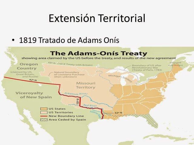 Tratado Adams-Onis- Expansion hacia Florida