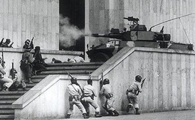 EL M-19 de toma el Palacio de Justicia.
