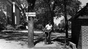 Jim crow law start in south