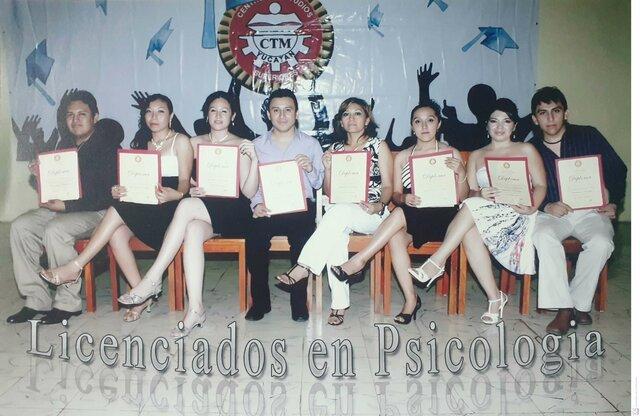 Egresadas y Egresados de la Licenciatura en Psicología (Educativa)