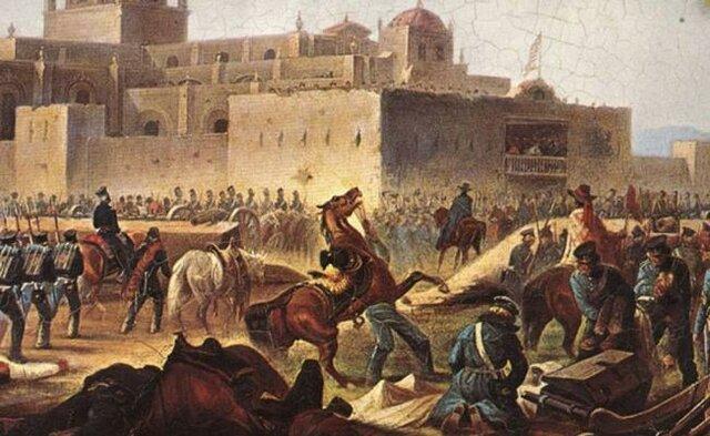 Batalla de El Álamo- la mas famosa de la independencia de Texas