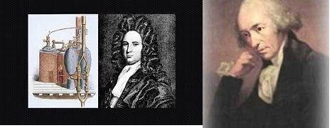 Thomas Savery y Thomas Newcomw