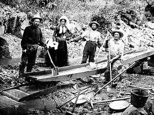 """Gold Rush"": Fiebre de oro del oeste de EEUU"