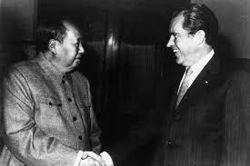 nixon visits communist china