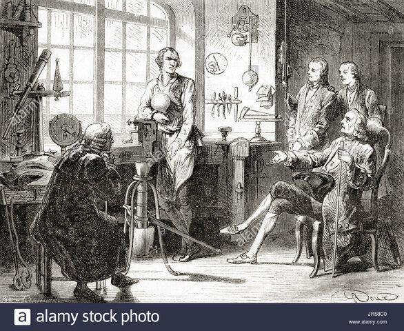 Joseph Black y James Watt