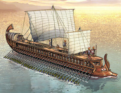 The Naval Force of Athens
