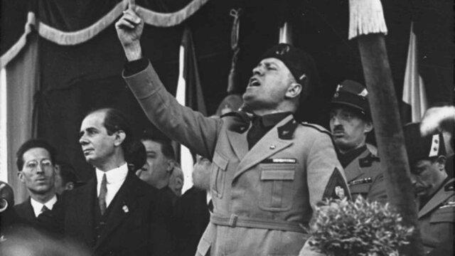 Inicio de la dictadura de Mussolini en Italia.