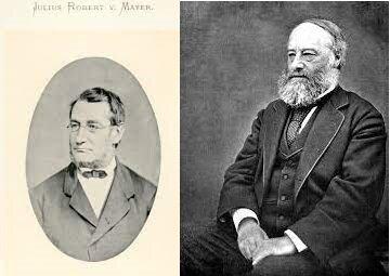 Julius Robert Van Mayer y James Prescott Joule