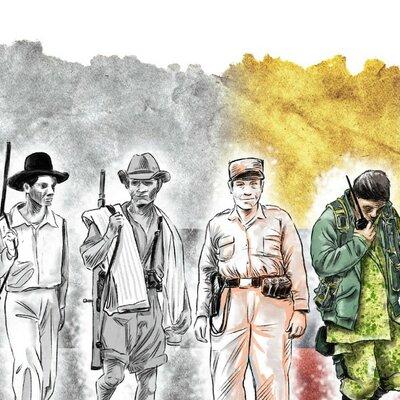 Violencia en Colombia  timeline