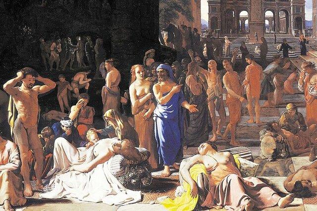 Peste de Atena