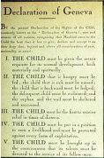 Declaración de los derechos de los niños