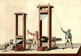 The Guillotine Invented