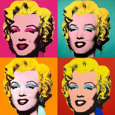 Andy Warhol. Marilyn, 1967, Museum of Modern Art, New York, New York.