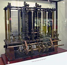 """Charles Babbage proposes the idea of the """"Analytical engine"""", a general purpose computer."""
