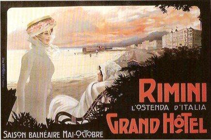 1908 GRAND HOTEL RIMINI L'OSTENDA D'ITALIA