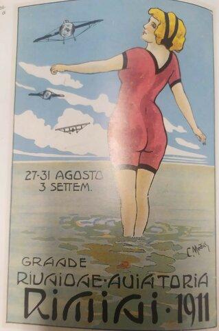 1911 GRANDE MANIFESTAZIONE AVIATORIA