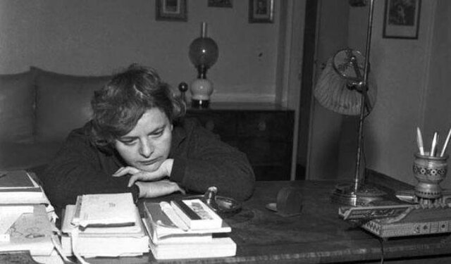 Elsa Morante ( Roma 1912 - Roma 1985 )