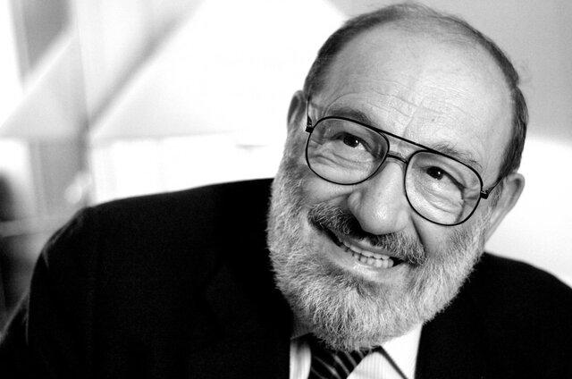 Umberto Eco ( Alessandria 1932 - Milano 2016 )