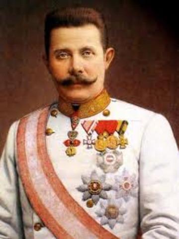 Magnicidio del archiduque Franciso Fenando de Austria